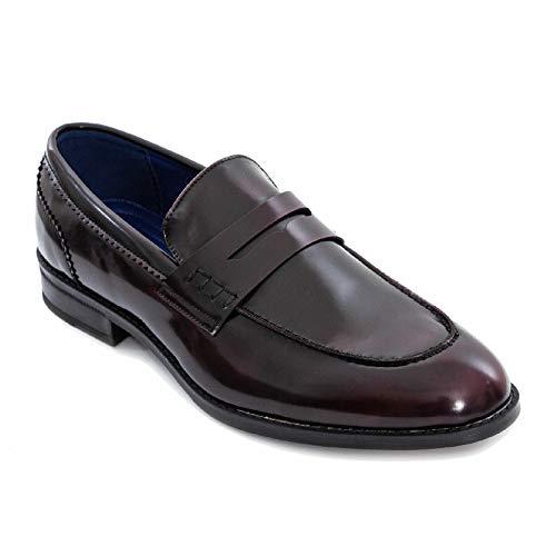 Toocool - Mocassini Uomo Oxford Polacchine Scarpe Uomo Eleganti College Y79 [42,Marrone]