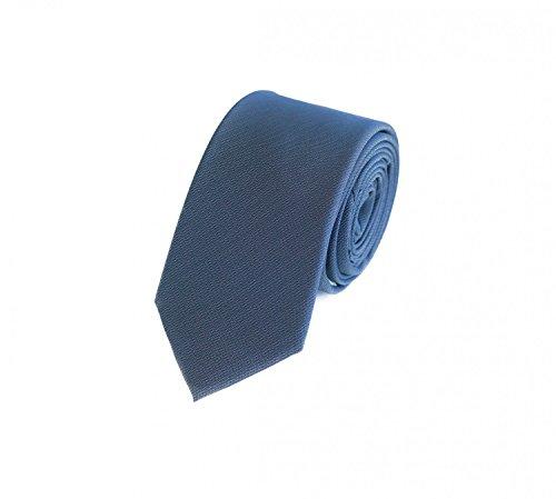 Fabio Farini Cravate homme 6cm à dessin bleu avec dessin