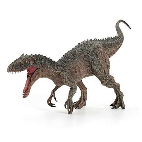 GWN Juguete de Dinosaurio de plástico Blando PVC Animal simulación Tyrannosaur Modelo Boca y habitación Cerrada decoración de Escritorio Juguete