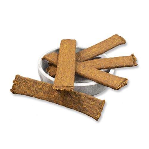 veritas Fleischstreifen für kleine und große Hunde - aus 100% Strauß I Natur Kauartikel Kausnack Hundeleckerlie Hundesnack Leckerlie (1x200g)