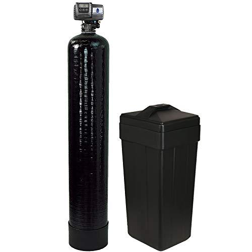 PENTAIR Fleck 5600sxt UPGRADED HIGH capacity 10% resin (32,000, Black - 1