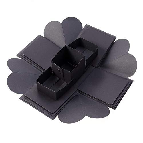 Ogquaton-Geschenk-Überraschung für Fotoalbum mit Explosionsbox Basteln zum Valentinstag