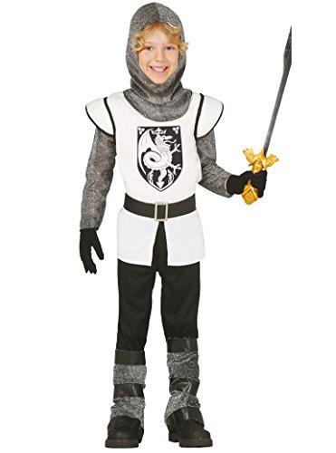 Guirca Costume cavaliere medievale carnevale halloween bambino 8569_ 5-6 anni