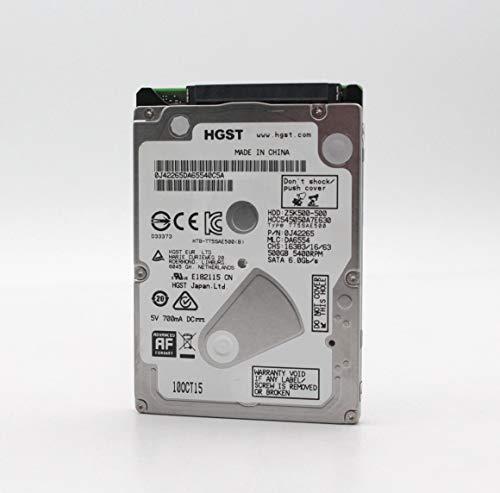 HGST Cinemastar Z5K500 500GB 5400rpm SATA III 32MB Cache 2.5