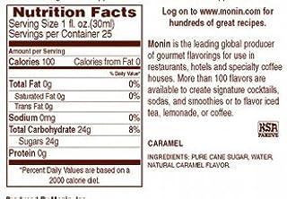 Monin Flavoured Syrup