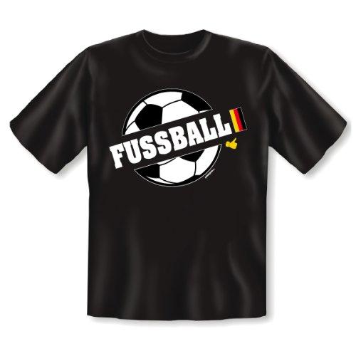 Deutschland Fußballfan T-Shirt zur Weltmeisterschaft! Fussball Fan Shirt, Trikot Gr. XL Fb: schwarz