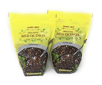 Trader Joe s Organic Red Quinoa - 16 oz - Gluten Free Vegetarian Vegan - 2 Pack