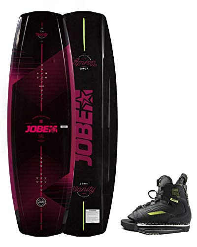 Jobe Vanity Wakeboard Damen 136 & Unit Bindungen Set