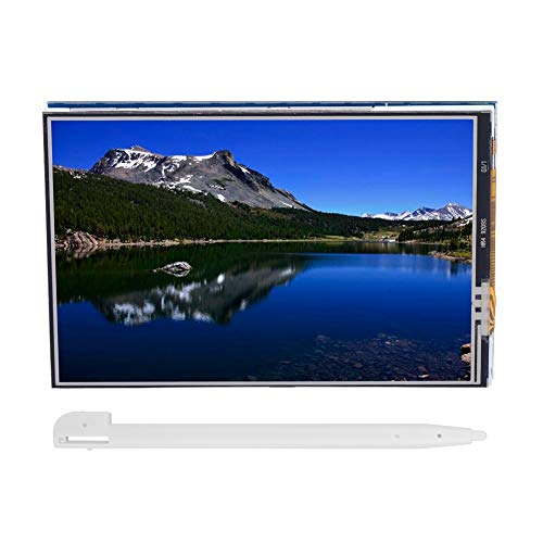 Samfox TFT LCD Screen Module 480x320 3.5Inch LCD Digitizer Touch Screen Panel for Arduino UNO & MEGA 2560 Board, 480x320 Pixels