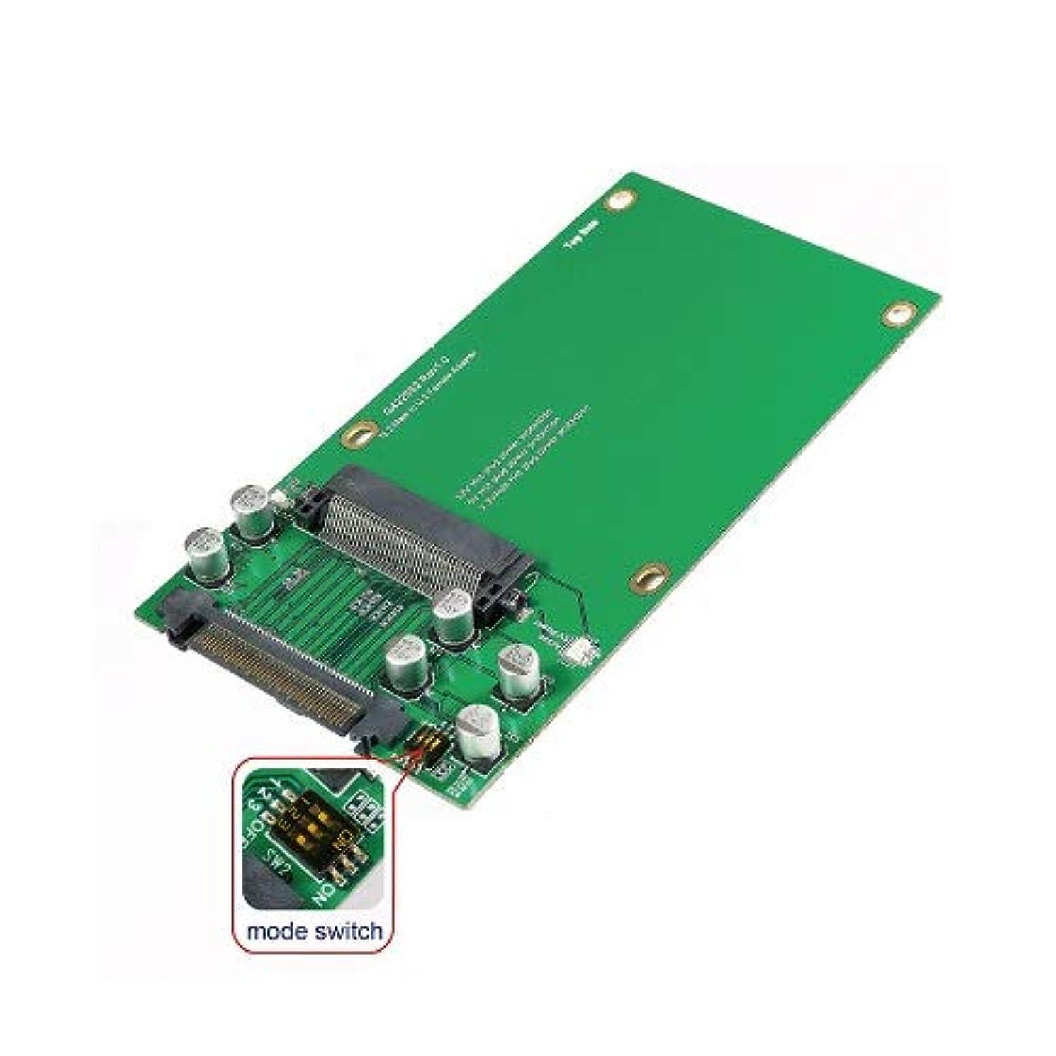 キュービック不機嫌そうな中庭U.2 SFF-8639から2.5インチ U.2 SSDアダプター