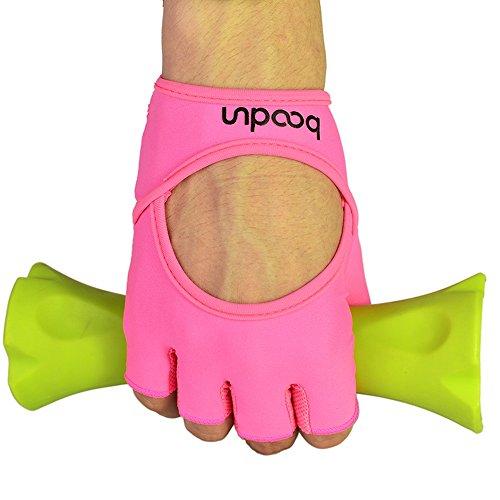 Anser 7150282Mujer Niña Lycra dedo tirador mitones del interior corta para yoga gimnasia fitness body Building formación