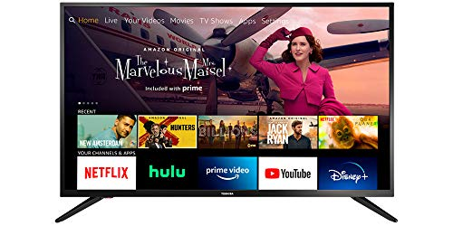 Toshiba 43LF421U21 43-inch Smart HD 1080p TV - Fire TV Edition, Released 2020