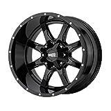 MOTO METAL MO970 GLOSS BLACK MO970 20x10 5x127.00/5x139.70 GLOSS BLACK (-24 mm) Wheel Rim