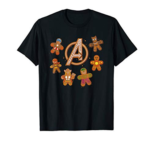 Marvel Avengers Gingerbread Cookies Holiday T-Shirt