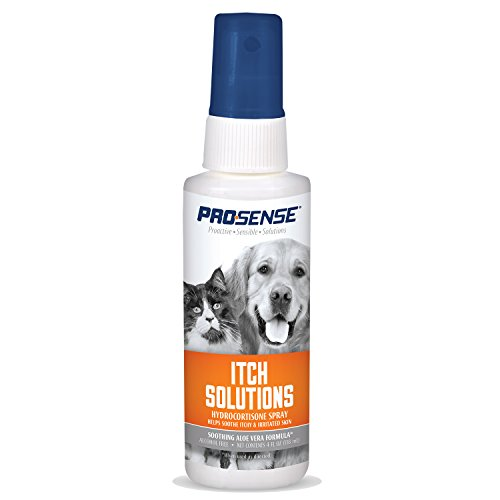 Price comparison product image ProSense Itch Solutions Hydrocortisone Spray for Pets with Aloe