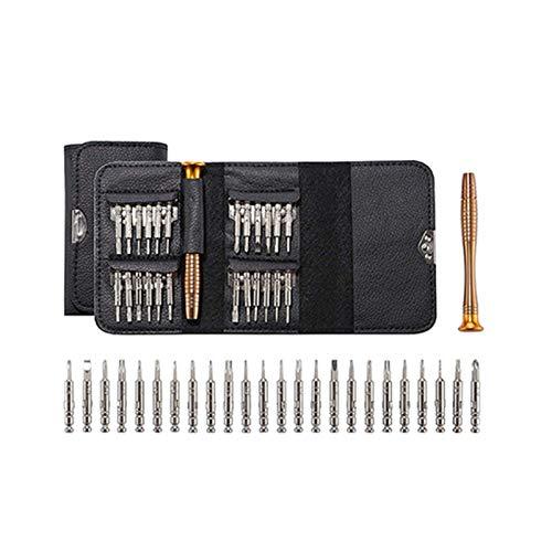 GYY 1 Set 25 en 1 Torx Precision Destornillador de reparación Juego de Herramientas para teléfonos celulares para iPhone Tablet PC Herramientas de Mano Accesorios (Color : 25 in 1)