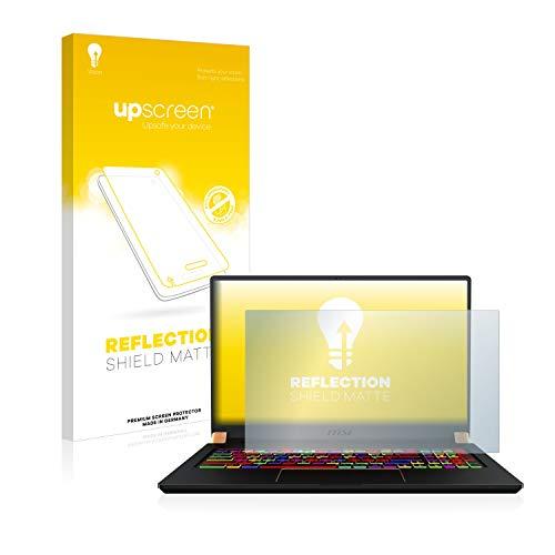 upscreen Entspiegelungs-Schutzfolie kompatibel mit MSI GS75 10SFS-225 – Anti-Reflex Bildschirmschutz-Folie Matt