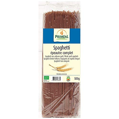 PRIMÉAL Spaghetti Épeautre Complet 500 g