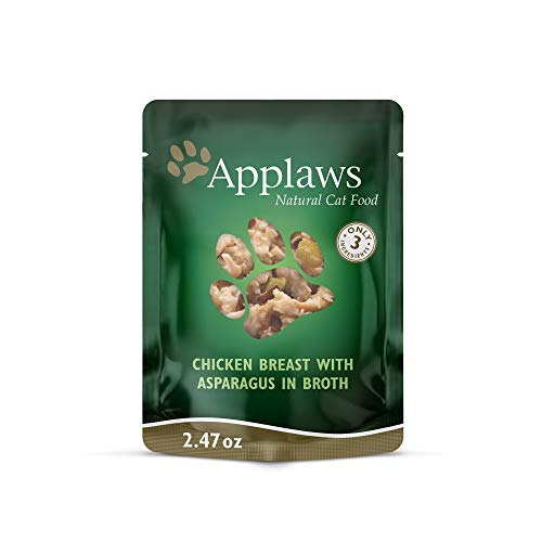 Applaws Cat Pouches in Tasty Broth Chicken with Asparagus