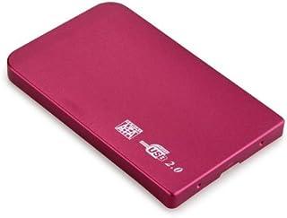 Asiproper Disco Duro Externo Slim Portable 2.5 HDD Enclosure USB 2.0 CAS