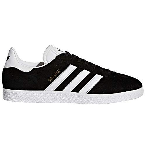 adidas Gazelle Zapatillas Deportiva para Hombre. Sneaker, Trainer, Tenis. (44 EU, Core Black/White/Clear Granite)