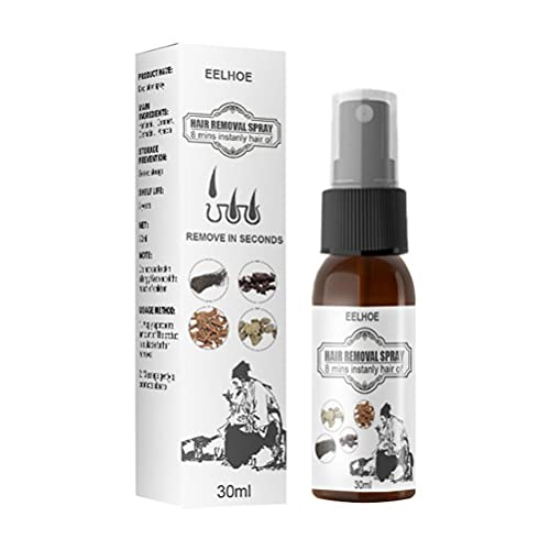 YIPUTONG Haarentfernung Spray, Kräuter Haar Inhibitor Spray Sanfte Ganzkörper Haarentfernung Enthaarungsmittel, Schmerzloses Haarentfernung für Männer und Frauen, für...