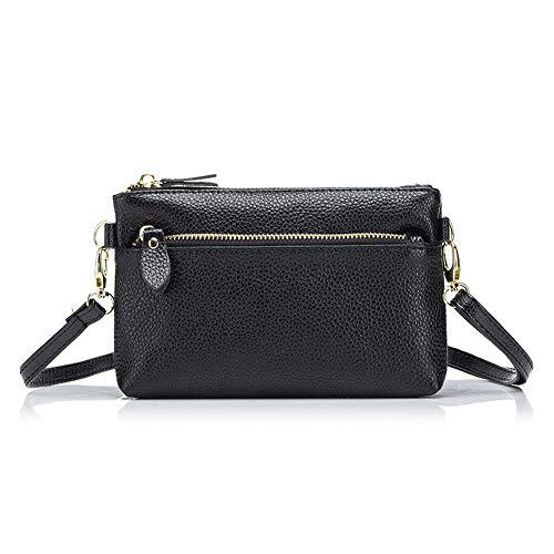 Damen Leder Mini Umhängetasche Handtasche Handtasche Handtasche Clutch Brieftasche für iPhone 11 XR X 8 7/Galaxy A10e A10 S10e S10 Plus/LG Rebel 4 G8 ThinQ G7 ThinQ V30/Google Pixel 3a
