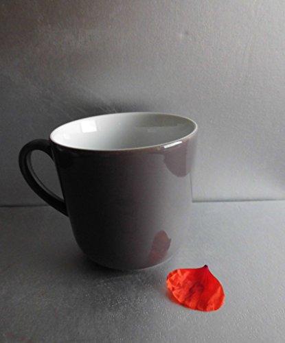 SONDERAKTION - Dibbern Solid Color - Becher mit Henkel 0,32 l - umbra - NEU