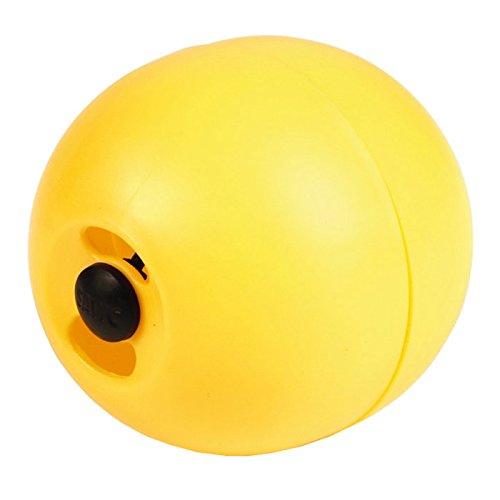 Beeztees 10520 Plastikfutterball - Chickenfun für Vögel, 7.5 cm, gelb