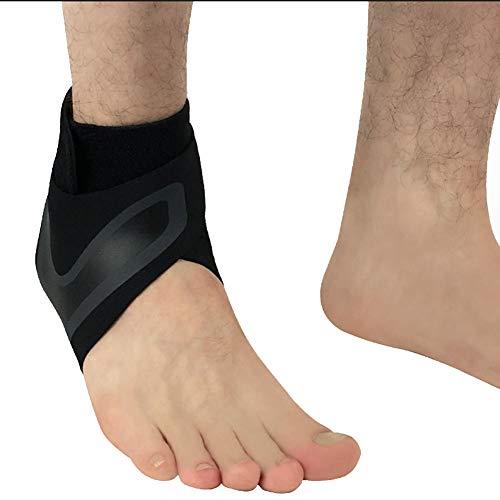Avalita - Tobillera de compresión Ajustable para Deportes de protección de Mujeres y Hombres (1 Unidad), XL, G-Left Foot