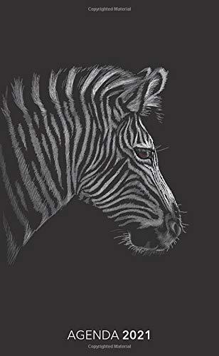 Agenda 2021 : Zebra - Animo: Agenda settimanale 2021 | Piccolo formato (10x16,5 cm) | Da notare tutti gli appuntamenti da gennaio a dicembre 2021 | 112 pagine | Italiana