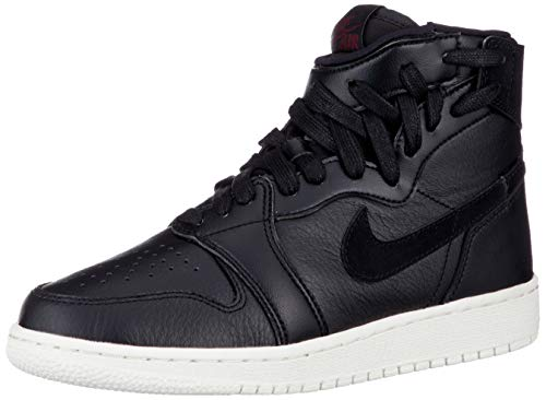 Nike Wmns Air Jordan 1 Rebel XX, Scarpe da Fitness Donna, Multicolore (Black/Black/Sail/Barely Rose 006), 38.5 EU