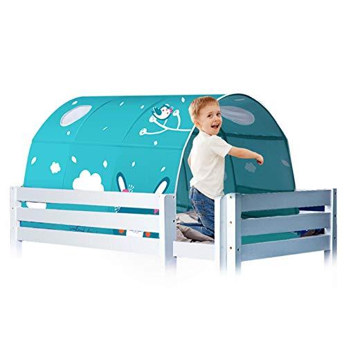 selfdepen Kids Play Bed Tent, Túnel para Niños, Carpas para Juegos De Interior, Carpas Espaciales, Salas De Juegos Infantiles, Regalos De Cumpleaños para Niños Y Niñas