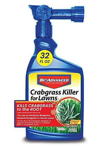 Bayer Advanced 704115A Crabgrass Killer for Lawns, 32 oz,...