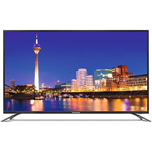 TechniSat MONITORLINE UHD 49 - 4K/UHD Display für Externe Zuspieler (49 Zoll, 124 cm, HDMI, USB, Kopfhörerausgang, Fernbedienung, Blinkwinkel 178°/178°)