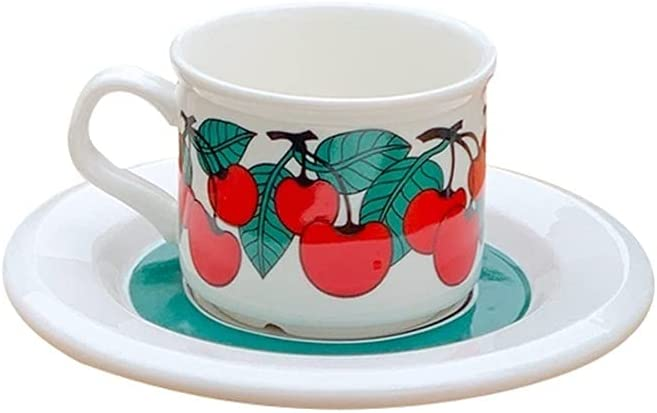 XDYNJYNL Creative Ceramic Coffee Mug 8.45oz and Clearance SALE Limited Direct store time La 250ml Saucer