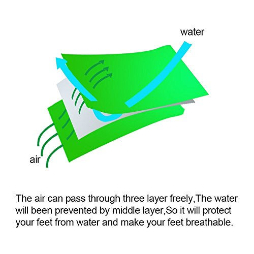 ウォーターフライ『waterproofanklesocks』