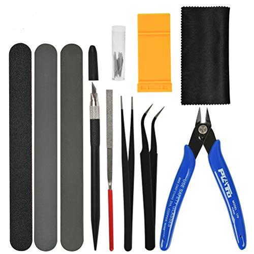 """""""N/A"""" 11 STÜCKE Gundam Modeler Grundwerkzeuge Basic Tools Hobby-Bauhandwerk Kraft Set Model Tools Modellbau Werkzeuge für Automodell Montagebaukasten"""