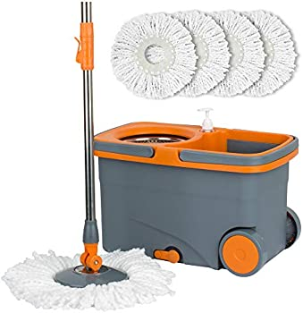 Casabella Microfiber Spin Mop and Bucket System