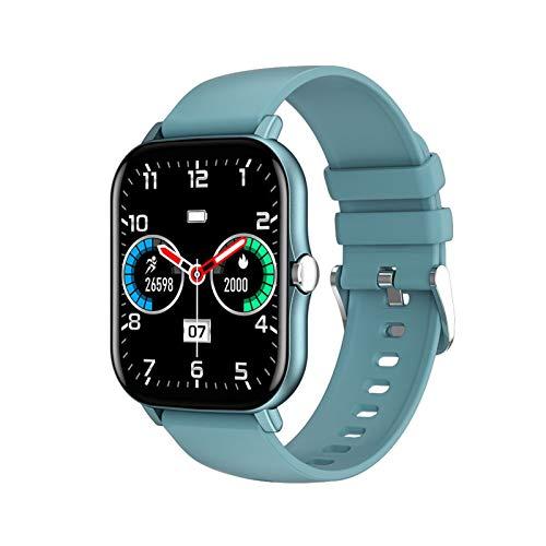 YDL Smartwatch para Amazfit GTS 2 1.7 Pulgadas HD Pantalla IPS GTS 2 DIY Reloj Face IP68 Impermeable 15 días En Espera Hombres Inteligentes Hombres (Color : Blue)