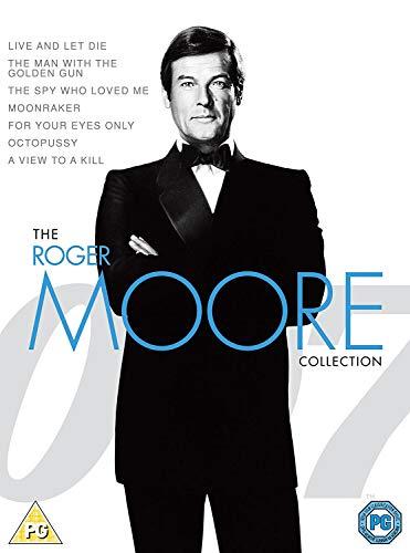 James Bond Roger Moore Ult Boxset DVD [Reino Unido]