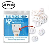 Baby Proofing | Electrical Safety Baby Products | Shock Blocker by Life Guardian, 25 Count