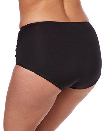 Fantasie Women's Versailles Fold Brief Swim Bottom FS5757 L Black