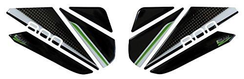 Seitentankpad 3D 800163-VA Carbon Stripes Tank-Schutz passend für Kawasaki Z800