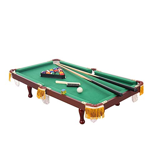 Great Features Of KIMIBen-toy Table Game Mini Pool Table for Kids Complete Small Pool Table Set for ...