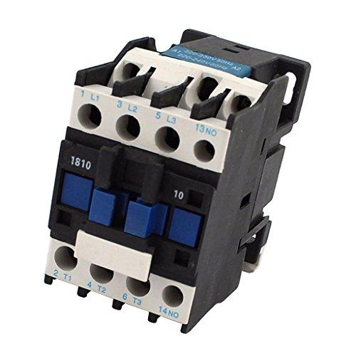 Contactor de CA Relé de Arranque Del Motor Cjx2-1810 1no 220v 50 / 60hz Trifásico