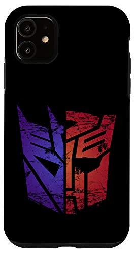 iPhone 11 Transformers Autobot Decepticon Split Logo Case