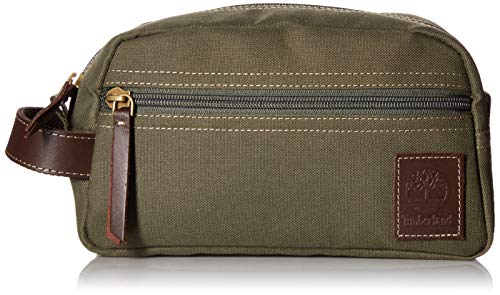 Timberland Canvas Travel Kit Olive 1 One Size