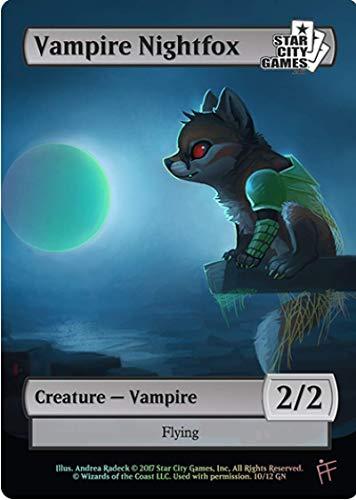 Star City Games Magic the Gathering Game Night Creature Collection Foil Token Vampire Nightfox