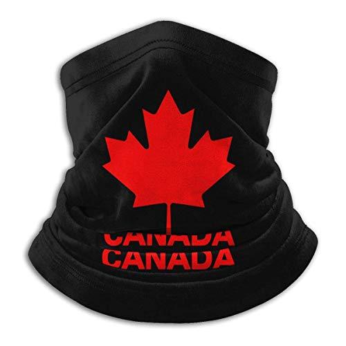 NA Kanadische Flagge Kanada Ahornblatt Herren Damen Gesichtsmaske Halstuch Bandana für Motorrad